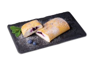 SUPERFOOD Skyr-Heidelbeer-Strudel